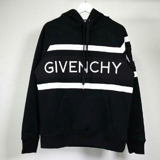 ジバンシィ(GIVENCHY)のお勧め!Givenchy ジバンシィ ブラック パーカー シンプル (パーカー)