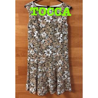 TOCCA - TOCCA トッカ 刺繍 フラワー 花柄 ワンピース