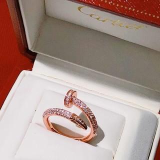 カルティエ(Cartier)のCartierカルティエ レディース リング 指輪 個性 超美品(リング(指輪))
