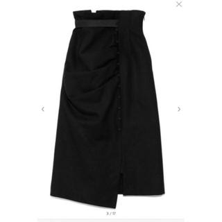 snidel - ドレープウールスカート