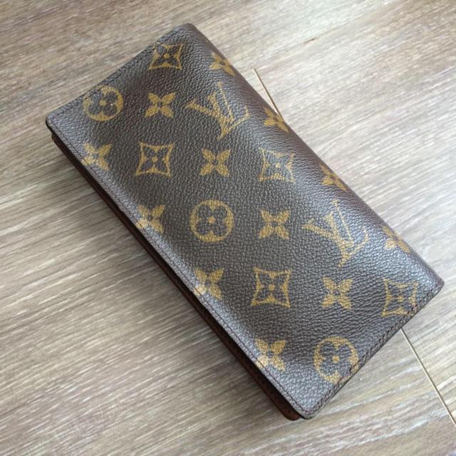 quality design 4ff59 a9ce3 ルイヴィトン 長財布 お札カード入れ | フリマアプリ ラクマ