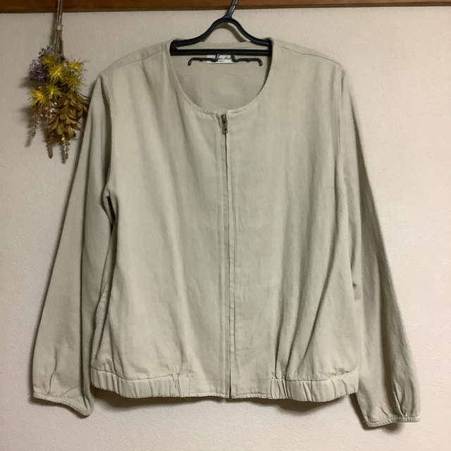 SM2(サマンサモスモス)のサマンサモスモス*綿麻ブルゾン レディースのジャケット/アウター(ブルゾン)の商品写真