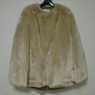 ハイク(HYKE)の新品未使用 HYKE エディション別注 ファー ジャケット(毛皮/ファーコート)