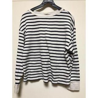 ジーユー(GU)のボーダーシャツ(Tシャツ(長袖/七分))
