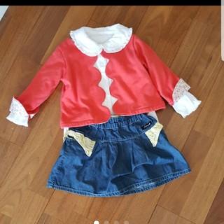サマンサモスモス(SM2)のコーデ 女の子 90-95(Tシャツ/カットソー)