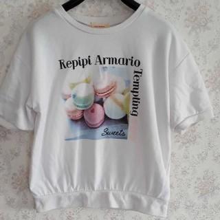 レピピアルマリオ(repipi armario)のレピピアルマリオ 半袖スウェットトレーナー(トレーナー/スウェット)