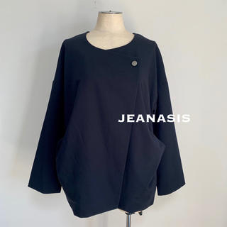 ジーナシス(JEANASIS)のJEANASIS 変形ジャケット(ノーカラージャケット)