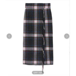フレイアイディー(FRAY I.D)の新品  FRAY I.D フレイアイディー チェックタイトスカート(ロングスカート)