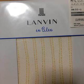 ランバンオンブルー(LANVIN en Bleu)の新品 ランバンオンブルー ストッキング(タイツ/ストッキング)