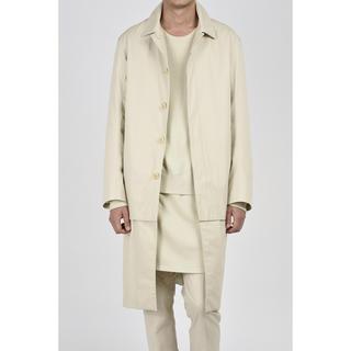 ラッドミュージシャン(LAD MUSICIAN)のlad musician layered soutien collar coat(ステンカラーコート)