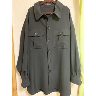 ジーナシス(JEANASIS)のJEANASIS シャツジャケット(テーラードジャケット)