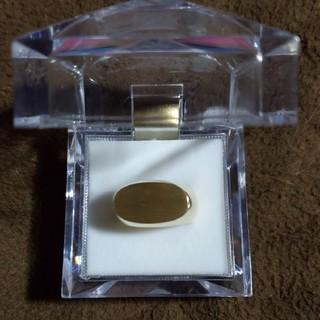 k18  印台リング(リング(指輪))