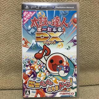 プレイステーションポータブル(PlayStation Portable)の太鼓の達人ぽ〜たぶるDX(携帯用ゲームソフト)