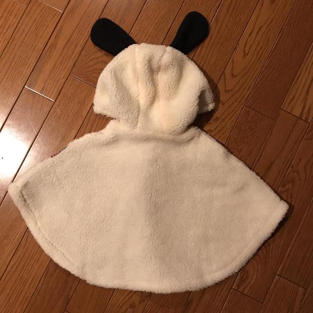BREEZE(ブリーズ)の新品 タグ付き BREEZE PEANUTSコラボ ボアマント (スヌーピー) キッズ/ベビー/マタニティのベビー服(~85cm)(ジャケット/コート)の商品写真