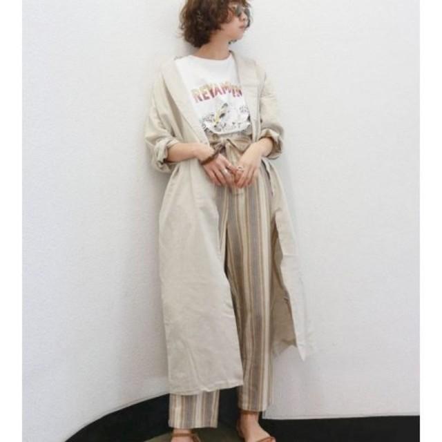 Ungrid(アングリッド)のショールカラーガウンコート レディースのジャケット/アウター(ガウンコート)の商品写真