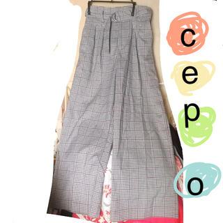 セポ(CEPO)のcepo💐チェックパンツ(カジュアルパンツ)