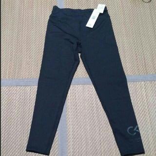 カルバンクライン(Calvin Klein)の匿名配送 新品カルバンクライン レギンスパンツ黒サイズM(レギンス/スパッツ)