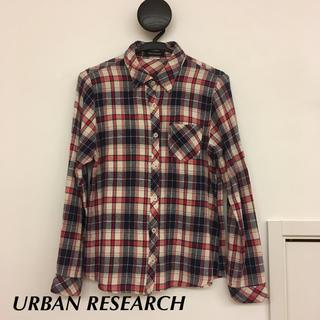 URBAN RESEARCH - アーバンリサーチ ネルシャツ チェック レディース