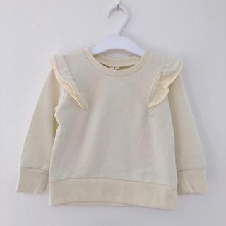 サマンサモスモス(SM2)の新品! SM2 フリルトレーナー 95(Tシャツ/カットソー)