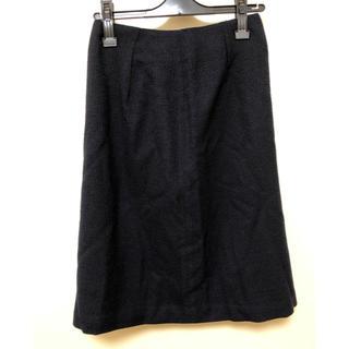 オペークドットクリップ(OPAQUE.CLIP)の新品タグ付き!OPAQUE.CLIP ツイードスカート(ひざ丈スカート)