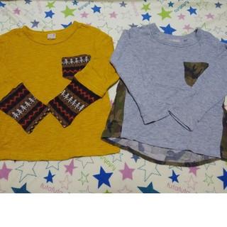 プティマイン(petit main)のpetit main ロンT(Tシャツ/カットソー)
