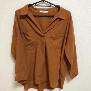ローリーズファーム(LOWRYS FARM)のLOWRYSFARM オレンジシャツ(シャツ/ブラウス(長袖/七分))