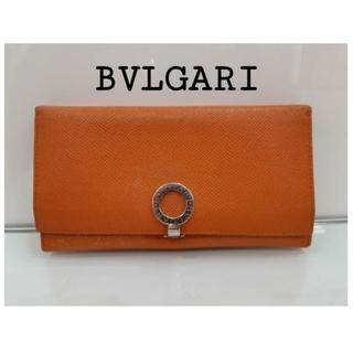 BVLGARI - BVLGARI ブルガリ オレンジ 長財布