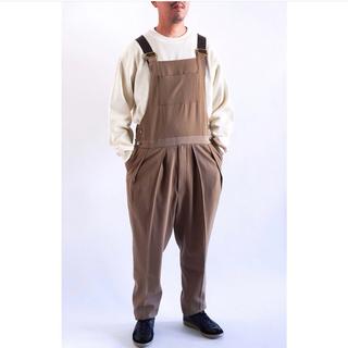 コモリ(COMOLI)の限定値下げ 新品neat wool high density オーバーオール m(サロペット/オーバーオール)