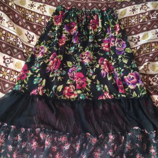 エルロデオ(EL RODEO)のエルロデオ☆リバーシブルロングスカート(ロングスカート)