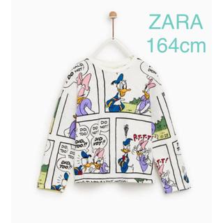 ザラキッズ(ZARA KIDS)のZARA ザラ ドナルド デイジー tシャツ (Tシャツ(長袖/七分))