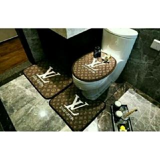 ルイヴィトン(LOUIS VUITTON)の新品・未使用 ルイ ヴィトン トイレ マット 3点セット(トイレマット)