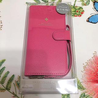アフタヌーンティー♡iPhoneブック型ケース