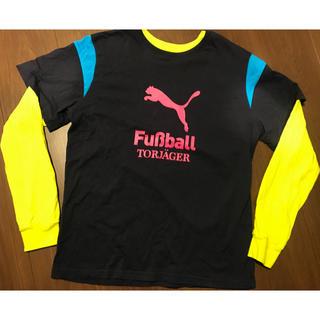 即完売品 プーマ 長袖シャツ 160サイズ サッカー フットボール
