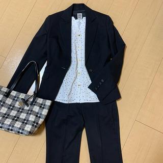ミッシェルクラン(MICHEL KLEIN)の【セット価格】ブラックパンツスーツ(スーツ)