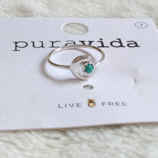 プラヴィダ(Pura Vida)のPura vida リング 指輪 天体 US 7 シルバー ロンハーマン取扱(リング(指輪))