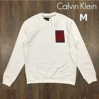 Calvin Klein - カルバンクラインジーンズ スウェット(M)白