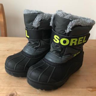 ソレル(SOREL)の【SOREL】スノーブーツ 17センチ(ブーツ)