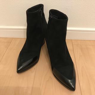 ファビオルスコーニ(FABIO RUSCONI)の専用FABIO RUSCONI (ファビオ ルスコーニ)黒ショートブーツ(ブーツ)