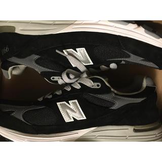New Balance - 【新品】new balance MR 993 BK ブラック 28cm