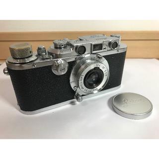 LEICA - Leica DIII + Elmar 50mm/f3.5 + レンズキャップ