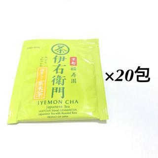 イトウエン(伊藤園)の京都福寿園 伊右衛門 玄米茶 ティーパック 20包(健康茶)