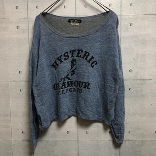 HYSTERIC GLAMOUR - Hysteric Glamour ヒステリックグラマー カットソー  ロンT