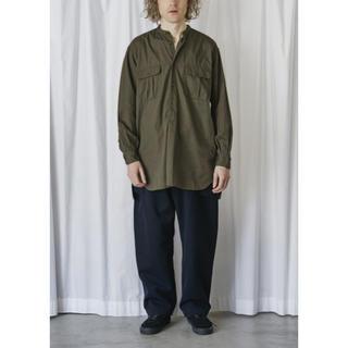 コモリ(COMOLI)のCOMOLI コモリ OD プルオーバーシャツ サイズ2(シャツ)