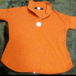 マカフィー(MACPHEE)のマカフィーニット オレンジ色ニット(ニット/セーター)