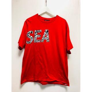 美中古 Wind and sea BIOTOP 大阪限定 ロゴ Tシャツ XL(Tシャツ/カットソー(半袖/袖なし))