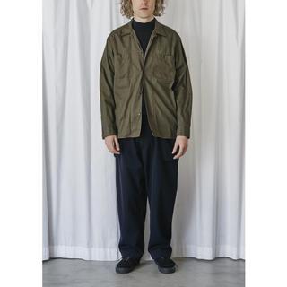 コモリ(COMOLI)のCOMOLI コモリ OD オープンカラーシャツ サイズ1(シャツ)