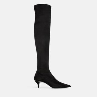 ザラ(ZARA)の★ZARA★ ザラ ブーツ ニーハイブーツ 26cm 大きいサイズ 靴 シューズ(ブーツ)