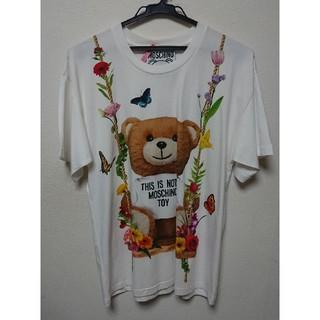 モスキーノ(MOSCHINO)のモスキーノTシャツ ブランコ XXS(Tシャツ(半袖/袖なし))