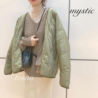 mystic - 最新作❁ミスティック カシュクール中綿ジャケット