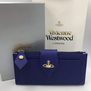 ヴィヴィアンウエストウッド(Vivienne Westwood)の新品 vivienne 長財布 バイカラー(財布)